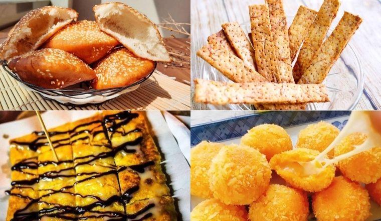 Bột mì làm món gì ngon? Các món ăn vặt đơn giản từ bột mì