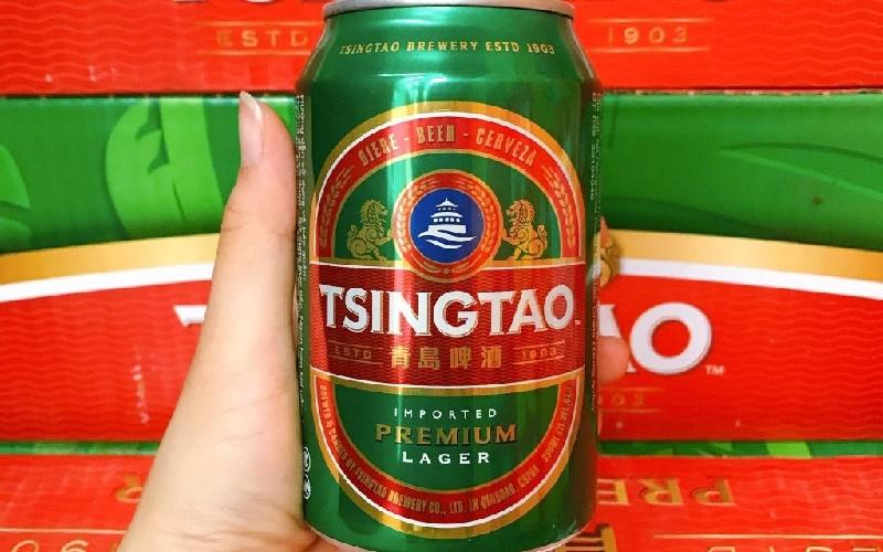 Bia Tsingtao thương hiệu bia cao cấp
