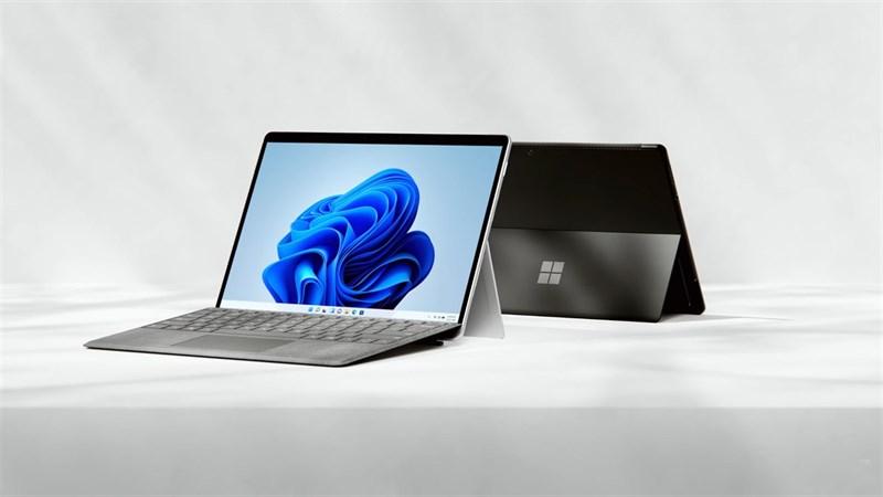 Surface Pro 8 là một mẫu tablet 2 trong 1 đáng mua. Nguồn: Microsoft.