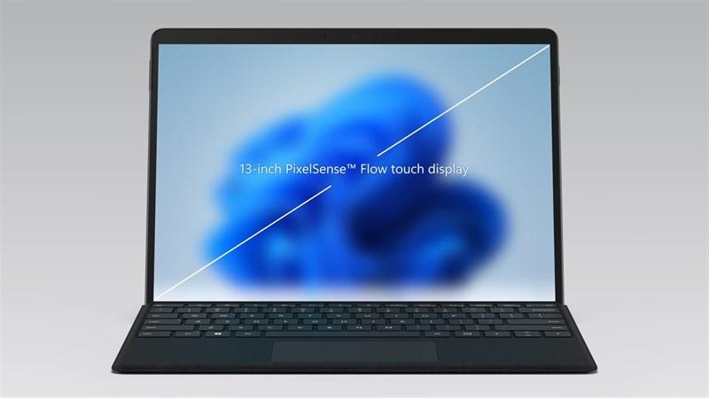 Màn hình của Surface Pro 8 có kích thước 13 inch. Nguồn: Microsoft.