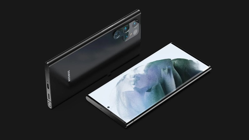 Render Galaxy S22 Ultra