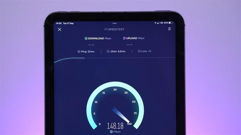 iPad mini 6 được trang bị 5G cho tốc độ Internet siêu nhanh