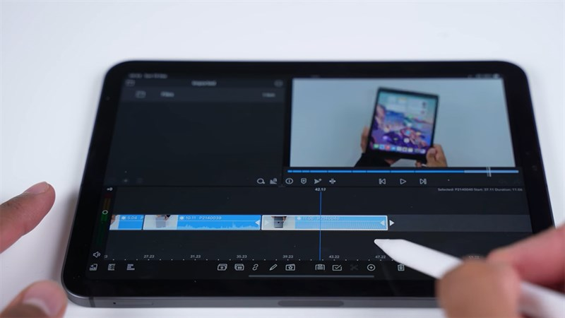 iPad mini 6 hỗ trợ Apple Pencil thế hệ 2 giúp làm việc dễ dàng hơn
