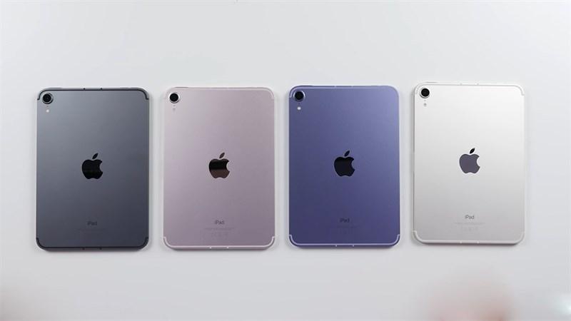 iPad mini 6 có 2 màu sắc mới rất đẹp và bắt mắt