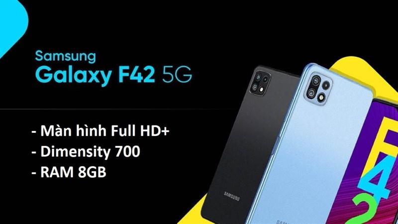 Thêm nhiều thông số kỹ thuật của Galaxy F42 5G được tiết lộ: Màn hình Full HD+, chip Dimensity 700 và RAM 8GB