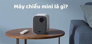 Máy chiếu mini là gì? Có nên mua máy chiếu mini không? Ưu và nhược điểm của máy chiếu mini