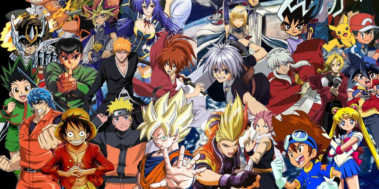 Các nhân vật Anime có thiết kế rất chi tiết, đặc trưng với đôi mắt to