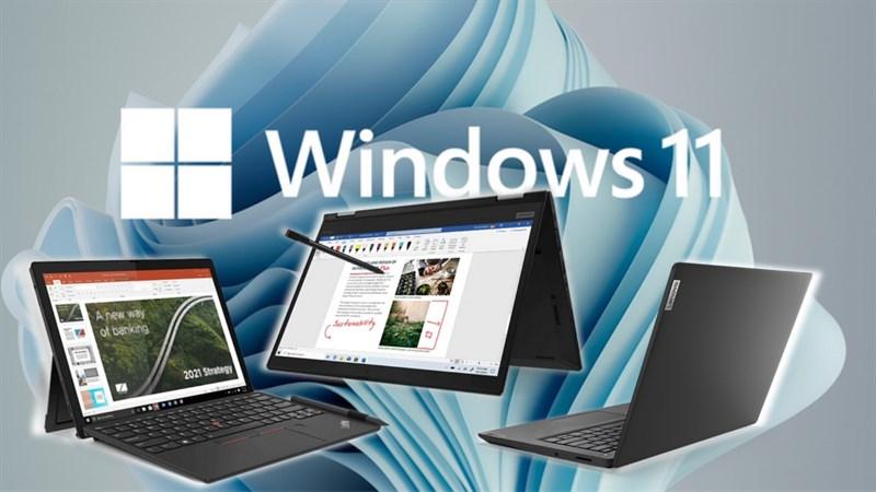 Lenovo sẽ ra mắt 5 máy tính xách tay mới chạy Windows 11 vào 28/9