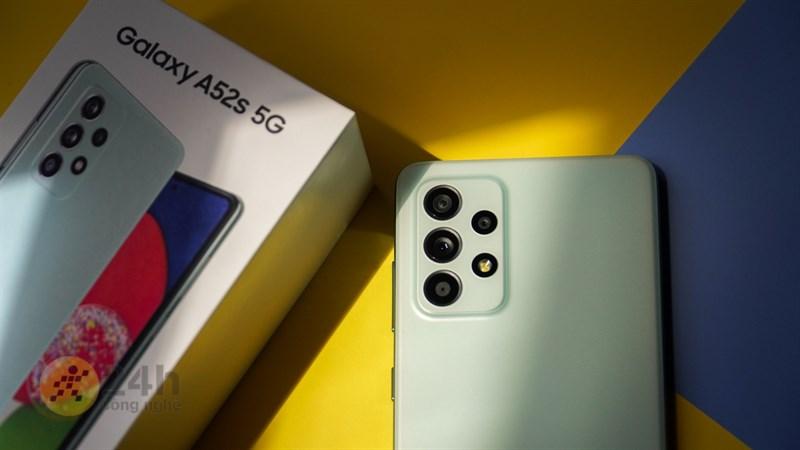 Chụp ảnh Galaxy A52s 5G