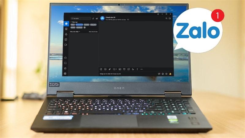 cách thay đổi giao diện tối Zalo máy tính
