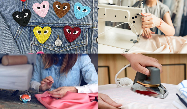 Tổng hợp các cách vá quần áo đơn giản, áo quần đẹp như mới mua