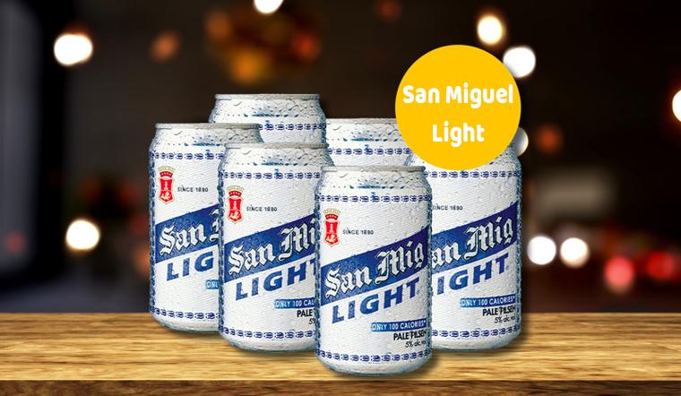 Bia San Mig Light - bia ngon được người Việt ưa chuộng