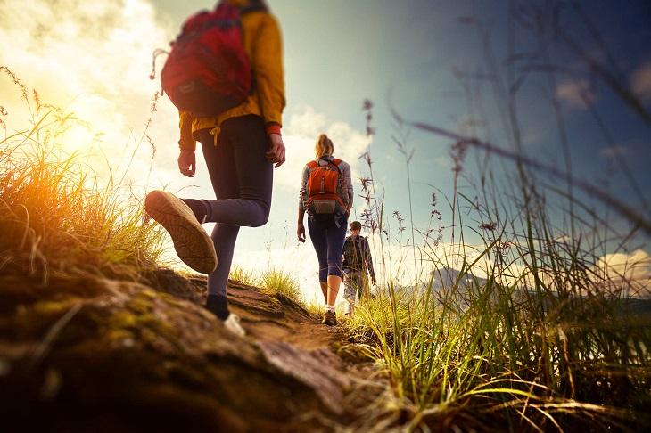 Lợi ích của việc đi bộ đường dài