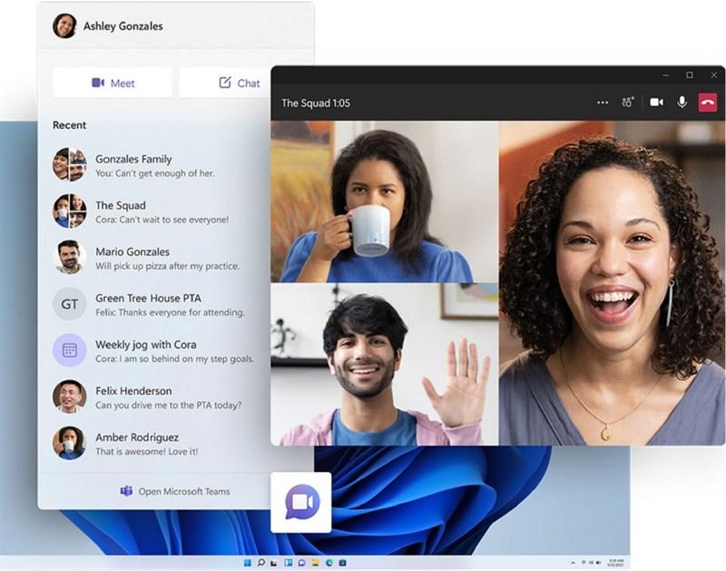 Trò chuyện trên Windows 11