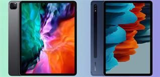 So sánh iPad 10.2 (2021) và Samsung Galaxy Tab S7 FE: Nên mua loại nào?