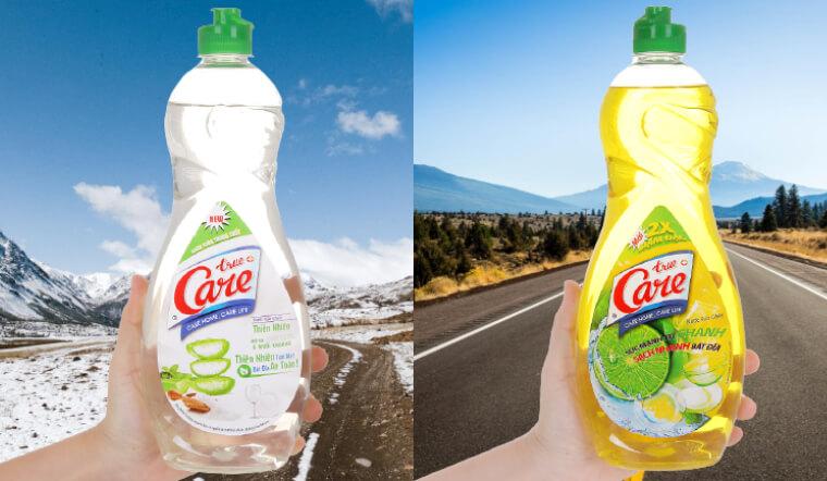 Đánh bay vết dầu mỡ trong tích tắc với nước rửa chén True Care