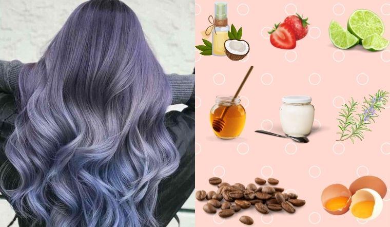 Giữ màu tóc nhuộm lâu phai với những nguyên liệu thiên nhiên tại nhà