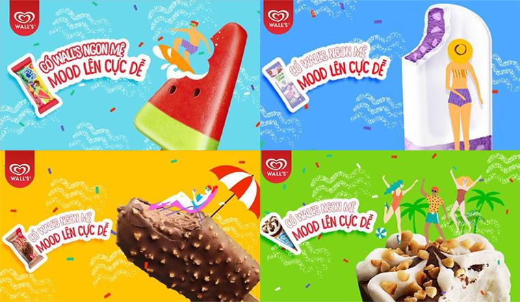 Lần đầu tiên kem Wall's hợp tác với Bách hóa XANH để giao tận nhà!