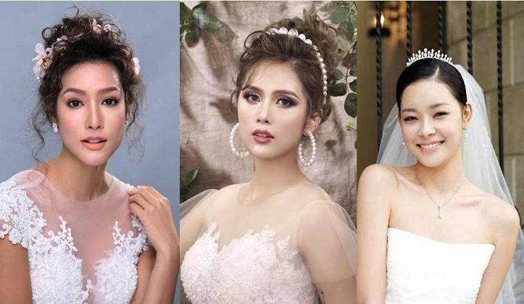 Tỏa sáng với 3 lối trang điểm cô dâu kiểu Tây hot hit nhất năm nay