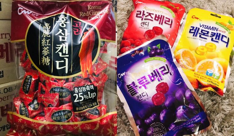 Thưởng thức hương vị ngọt ngào từ các loại kẹo CW