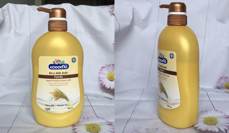 Sữa tắm cho bé Kodomo tinh chất sữa gạo có tốt không?