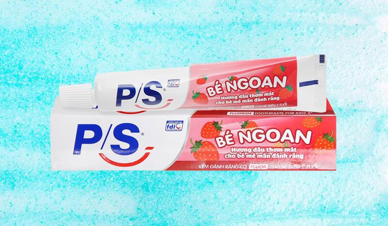 Kem đánh răng P/S bé ngoan hương dâu có tốt không? Dành cho bé bao nhiêu tuổi?