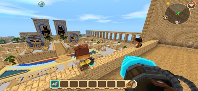 Screenshots Mini World Block Art - Vùng đất ma thuật