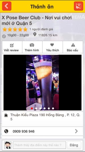 Screenshots Thánh Ăn - Địa chỉ ăn uống danh cho bạn