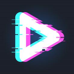 90s - Ứng dụng chỉnh sửa video Glitch & Vaporwave nghệ thuật