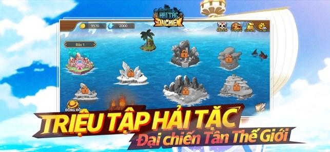 Screenshots Hải tặc đại chiến - Chinh phục One Piece | Game chiến thuật đấu tướng