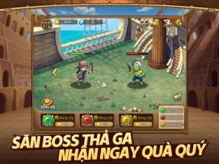 Screenshots Tải Hải tặc đại chiến - Chinh phục One Piece | Game chiến thuật đấu tướng