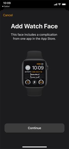 Screenshots Watch - Ứng dụng tùy chỉnh đồng hồ Apple Watch trên iPhone