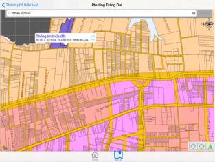 Screenshots DNAILIS: Ứng dụng tra cứu thông tin quy hoạch đất Đồng Nai