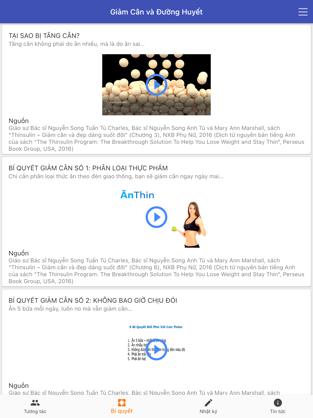 Screenshots Tải Dr Thin: Mạng xã hội sức khỏe, giảm cân, giảm đường huyết
