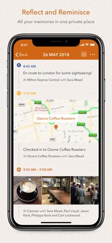 Screenshots Momento - Ứng dụng viết nhật ký, lưu giữ kỷ niệm trên iOS
