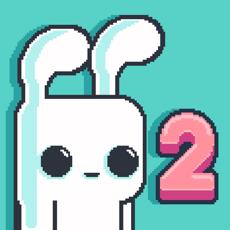 Yeah Bunny 2 - Giải cứu đàn gà con   Game pixel đi cảnh thú vị