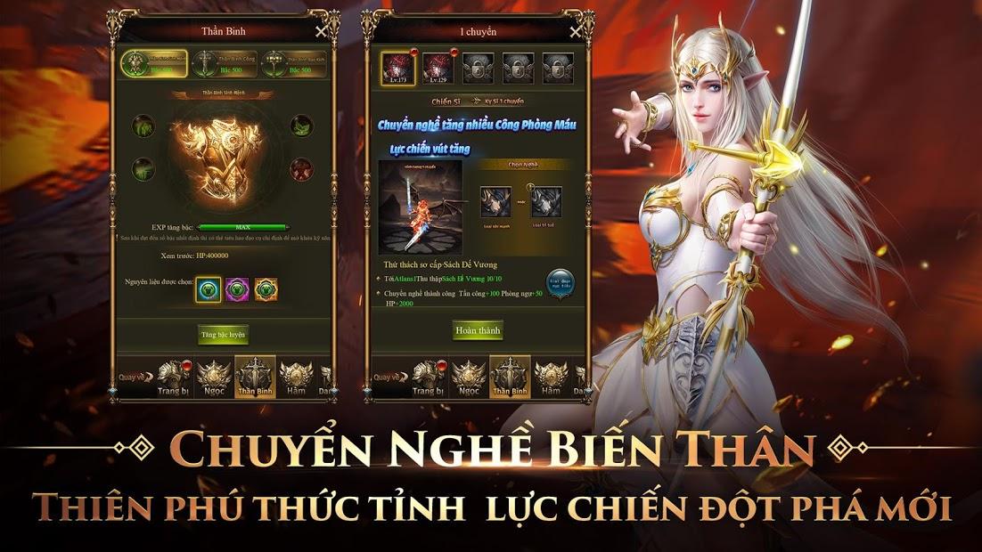 Screenshots MU Đại Thiên Sứ H5 - Huyền thoại dòng game nhập vai