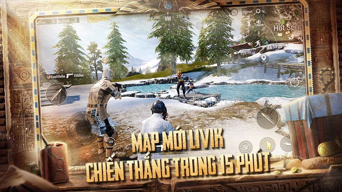 Screenshots PUBG MOBILE VN - Winner Winner Chicken Dinner