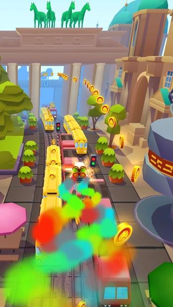 Screenshots Subway Surfers - Siêu quậy đường tàu