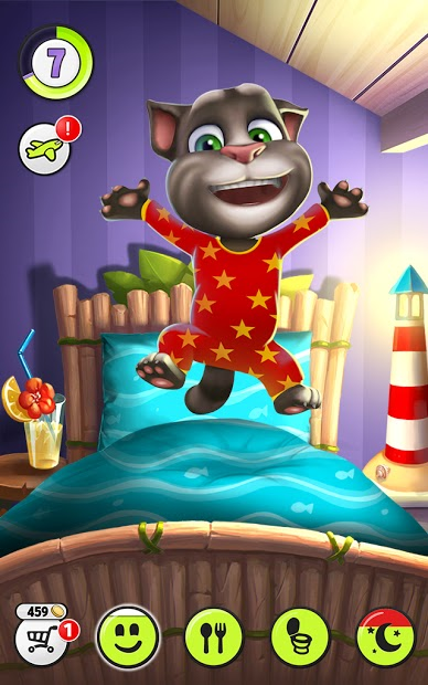 Screenshots My Talking Tom - Chơi đùa cùng mèo Tom