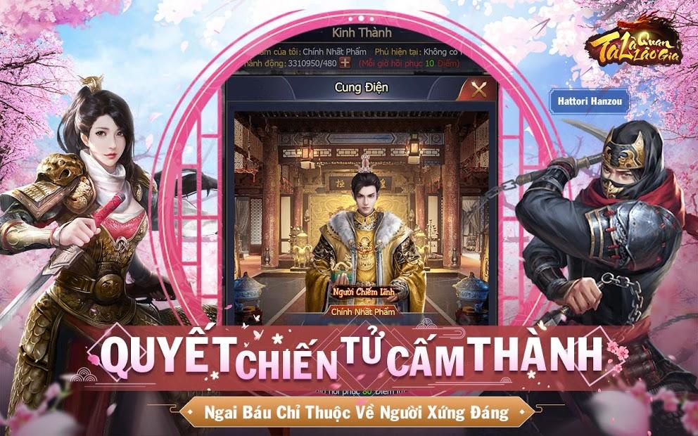 Screenshots Ta Là Quan Lão Gia: Game thăng quan tiến chức