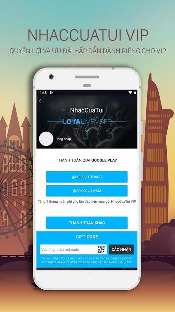 Screenshots NhacCuaTui: Một trong những ứng dụng nghe nhạc mp3 hàng đầu