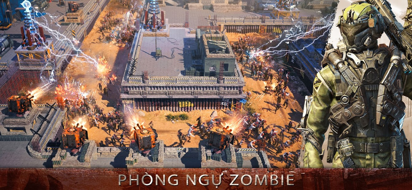 Screenshots Age of Z Origins - Xây dựng thành trì, tiêu diệt Zombie
