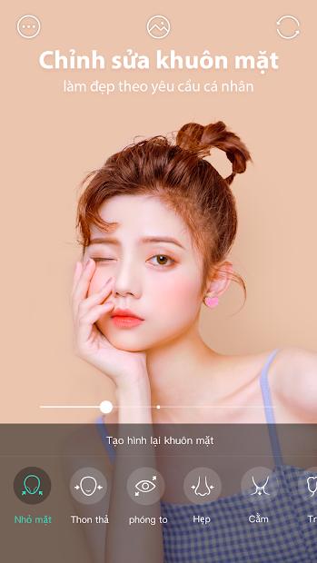 Screenshots FaceU - Cảm hứng cho vẻ đẹp: Ứng dụng biên tập ảnh độc đáo