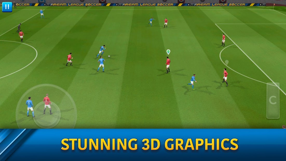 Screenshots Dream League Soccer - Giấc mơ sân cỏ