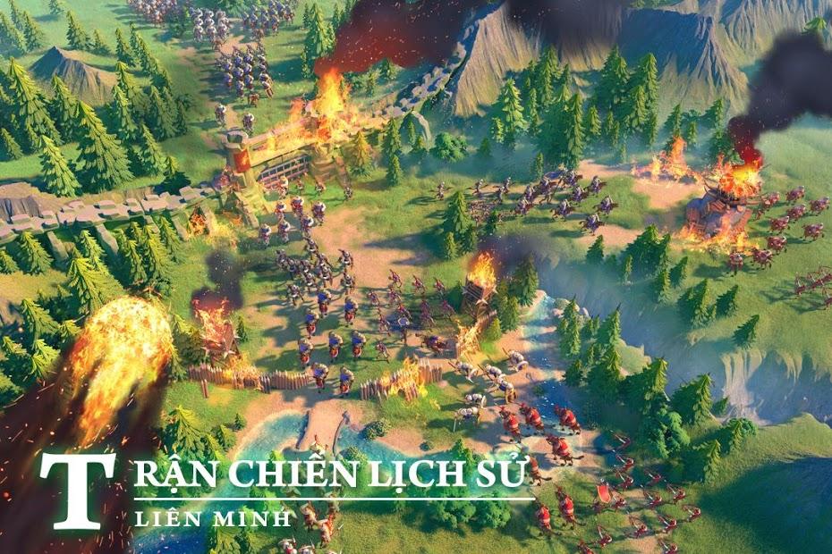 Screenshots Rise of Kingdoms: Lost Crusade - Xây dựng đế chế của bạn