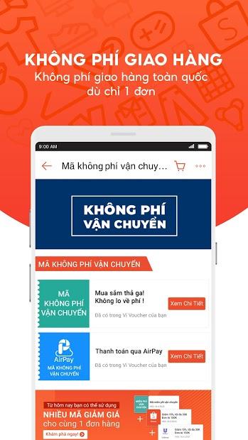 Screenshots Shopee: Ứng dụng Mua Bán Online Giá Rẻ
