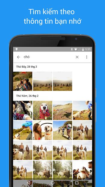 Screenshots Google Photos - ứng dụng lưu trữ hình ảnh