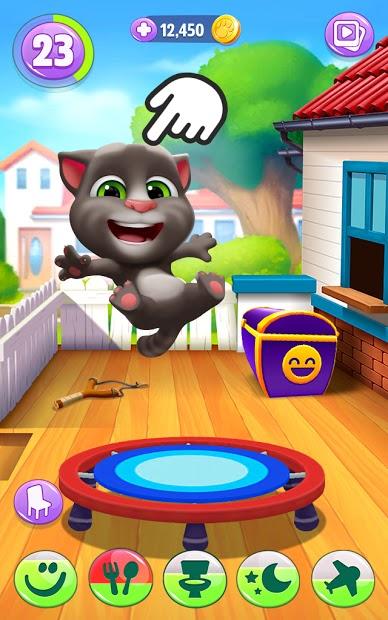 Screenshots My Talking Tom 2 - Chơi đùa cùng mèo Tom 2