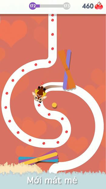 Screenshots Egg Finder - Game thú cưng ăn cherry thú vị